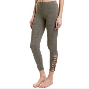 NWT Chaser Quadrablend Strappy Side Ankle Legging